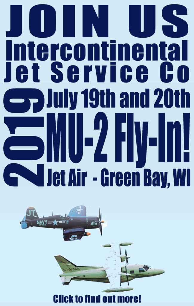 Join us at the MU-2 Fly-In – Green Bay - Click to find out more!
